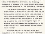 Český spolek přátel Izraele Balfour_declaration_unmarked-1-150x115 Balfour Declaration: Haters Declare War HonestReporting.com