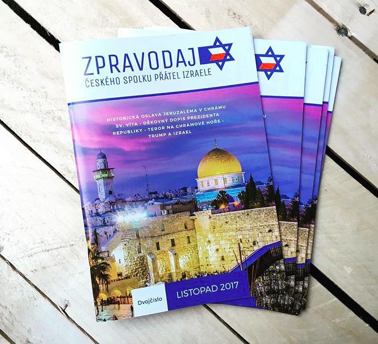 Česká společnost přátel Izraele zpravodaj Zpravodaj ČSPI