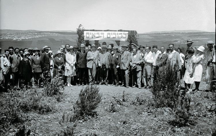 Česká společnost přátel Izraele Slavnostní-hosté-při-otevření-Masarykova-lesa Revitalizace Masarykova lesa v severním Izraeli Novinky